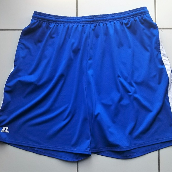 e00a4290ae Russell Athletic Shorts | Russell Mens Basketball Blue Xxl | Poshmark